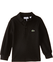 Lacoste Kids - Long Sleeve Classic Pique Polo Shirt (Toddler/Little Kids/Big Kids)