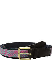 Vineyard Vines - Vineyard Whale Canvas Club Belt