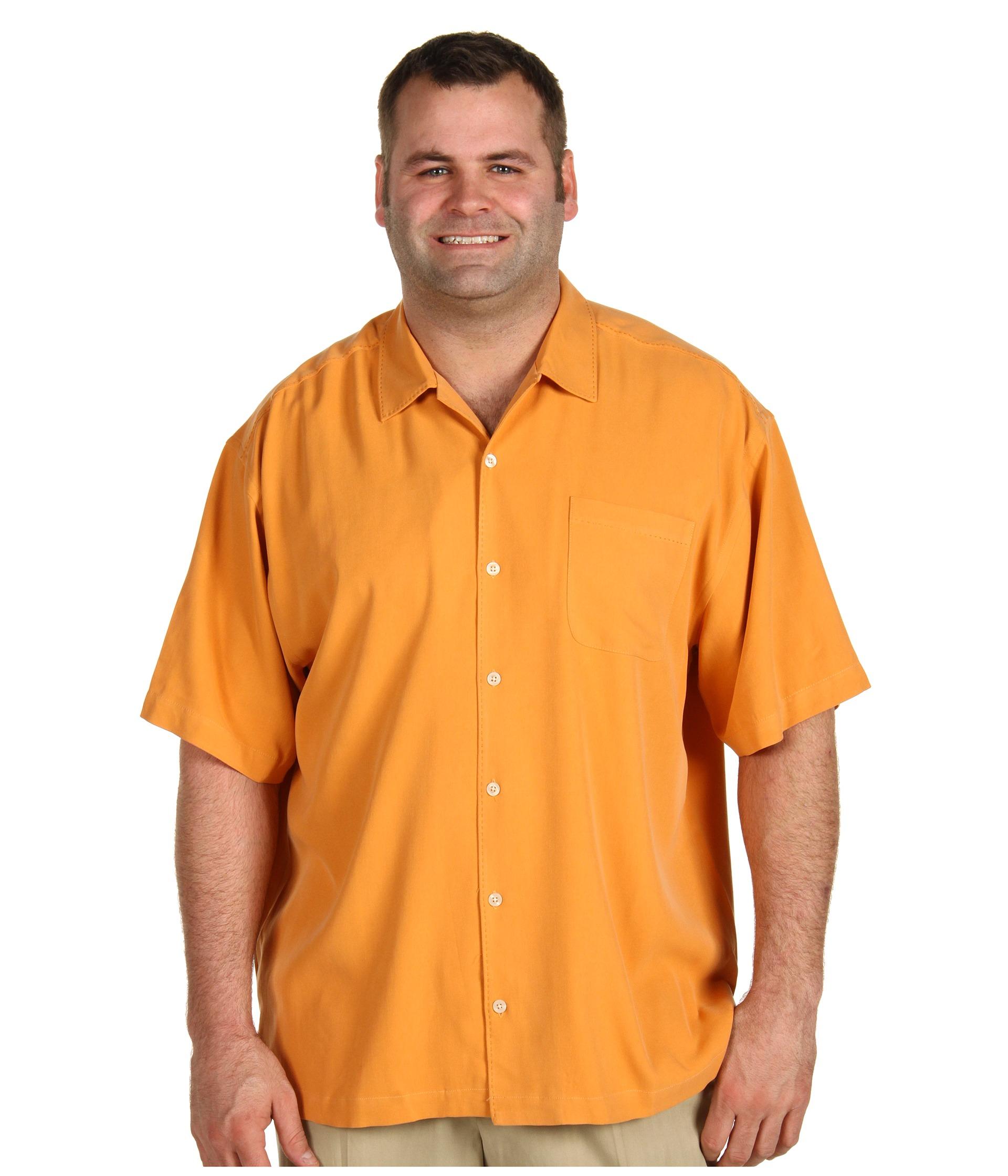 Tommy Bahama Big & Tall   Big & Tall Catalina Twill S/S Shirt