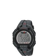 Timex - IRONMAN® 30-Lap Mega Silver w/Black Resin Strap Sports Watch