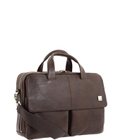 KNOMO London - Warwick Double Compartment Laptop Briefcase