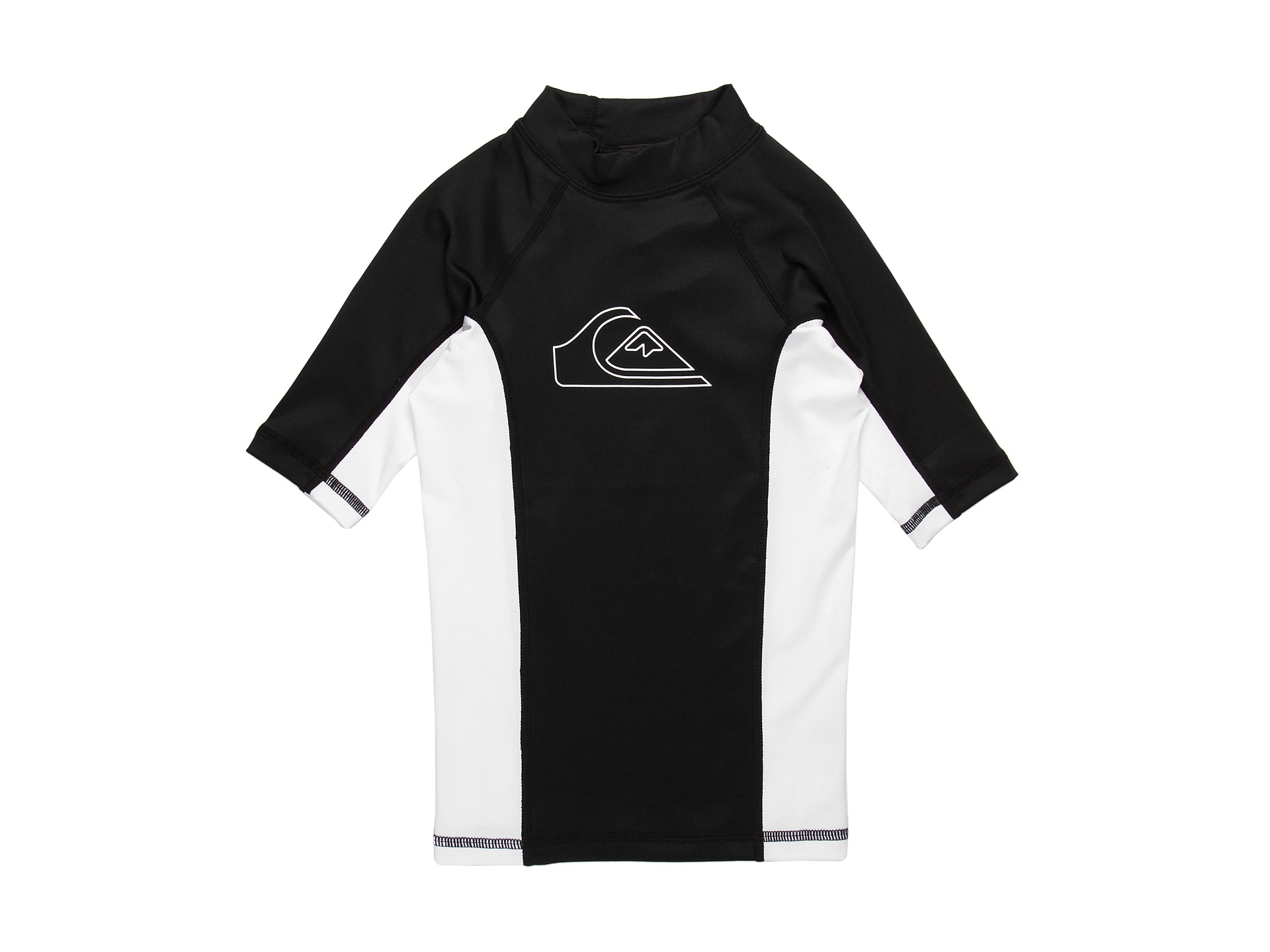Quiksilver Kids   Front Side S/S Surf Shirt/Rashguard (Little Kids/Big