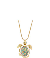 Betsey Johnson - Sea Excursion Long Necklace with Turtle Pendant