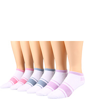 Ecco Socks - No Show w/ Stripe 6 Pack