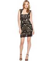 Nicole Miller - Stretch Lace Dress With Open Back Detail