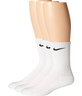 Nike - Cotton Cushion Crew with Moisture Management 3-Pair Pack
