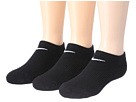 Cotton Cushioned No Show 3-Pair Pack