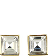 Michael Kors - Cocktail Party Crystal Square Stud Earrings
