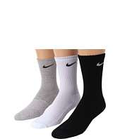 Nike Kids - Cotton Cushion Moisture Management Crew Sock 3-Pair Pack (Little Kid/Big Kid)