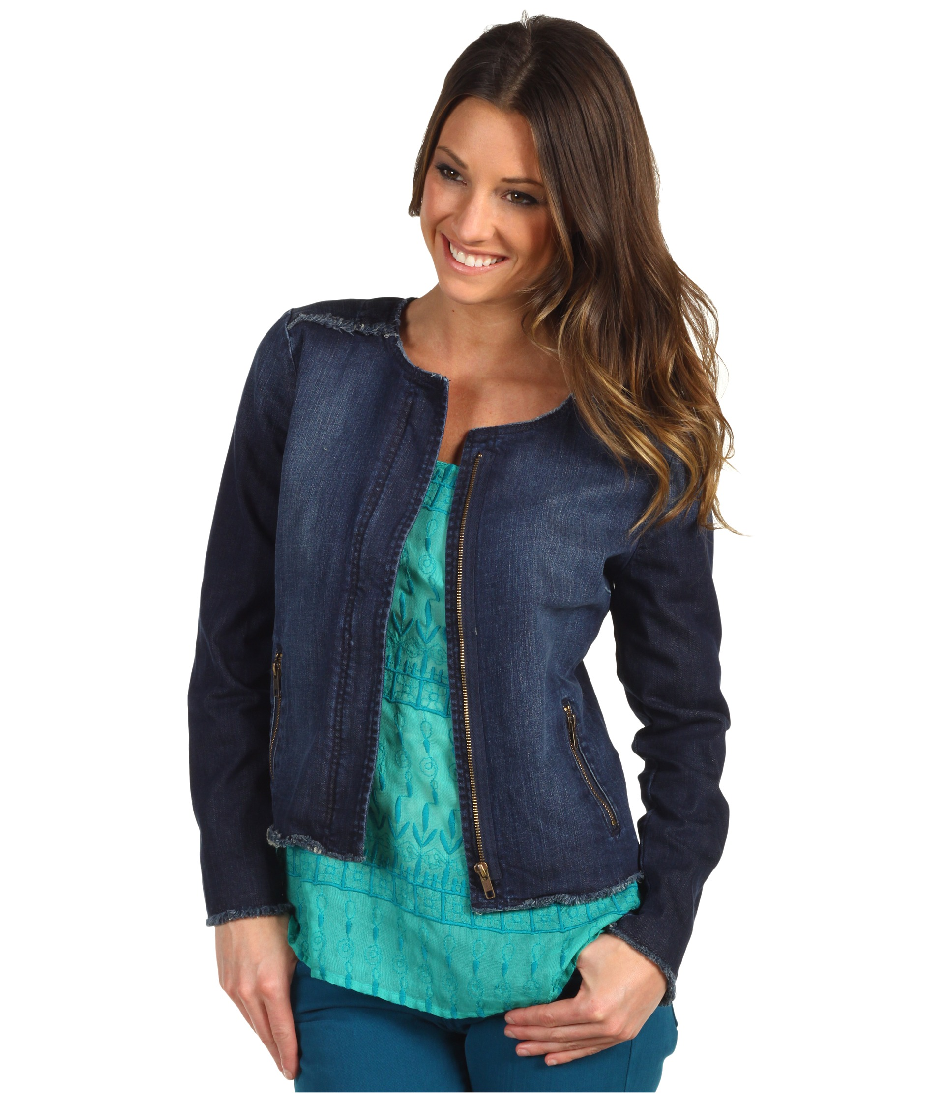lucky brand adamson cropped denim jacket $ 129 00 new kut from the