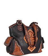 M&F Western - Tooled Cross Shoulder Bag