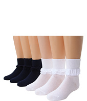 Jefferies Socks - Misty 6-Pack (Infant/Toddler/Little Kid/Big Kid)