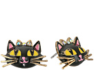 Enchanted Forest Cat Stud Earrings