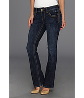 KUT from the Kloth - Natalie High Rise Bootcut Short Inseam in Vargos