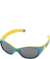 Julbo Eyewear - Solan Kids Sunglasses, Blue/Yellow w/ Spectron 3+ Lenses (4-6 Years)