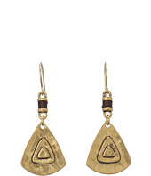The Sak - Metal Triangle Drop Earrings