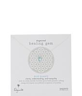 Dogeared - Healing Gem Blue Quartz Necklace
