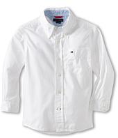 Tommy Hilfiger Kids - Classic L/S Woven Shirt (Toddler/Little Kid)