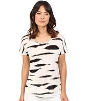 kensie - Animal Stripe Top
