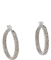 The Sak - Etched Hoop Earrings