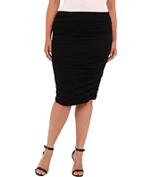 Vince Camuto Specialty Size - Plus Size Rouched Midi Skirt