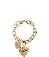 GUESS - Two Heart Charm Bracelet