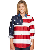 Roper - L/S Stars and Stripes Pieced Flag