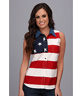 Roper - S/L Stars and Stripes Pieced Flag