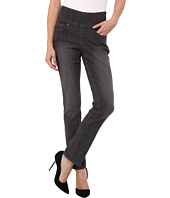 Jag Jeans Petite - Petite Peri Pull-On Straight in Thunder Grey