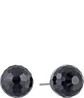 LAUREN Ralph Lauren - Napa Valley 10mm Faceted Jet Stud Earrings