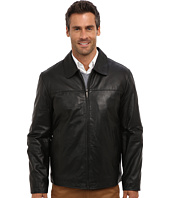 Perry Ellis - Leather Bomber Jacket EP620330
