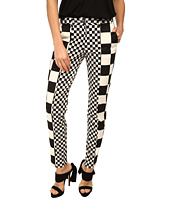 LOVE Moschino - Checker Print Pant