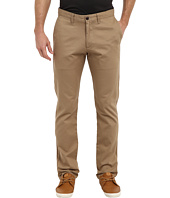 Dockers - Game Day Alpha Khaki Slim Tape Red Flat Front Pant