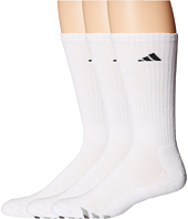 adidas - Cushioned 3-Stripe 3-Pair Crew Sock