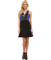 Aryn K - Cutout Leather Dress