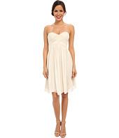 Donna Morgan - Morgan Short Silk Chiffon Strapless Dress
