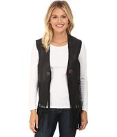 Scully - Eva Mesh Back leather Vest