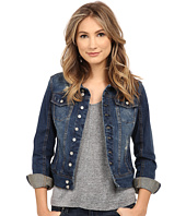 Blank NYC - Distressed Denim Jacket in Toe Jam