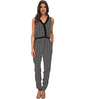 Adrianna Papell - Cross-Over Jumpsuit w/ Solid
