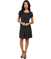 Yumi - Spotty Pleat Dress
