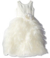 Us Angels - Satin and Tulle Dress w/ Flower (Little Kids)