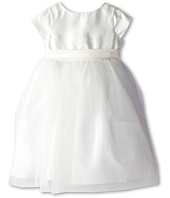 Us Angels - Cap Sleeve Silk and Tulle Dress (Toddler)