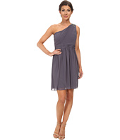 Jessica Simpson - One Shoulder Pleated Dress Stone