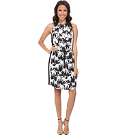 Vince Camuto - Sleeveless Palm Harmony Tie Waist Dress