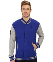 U.S. POLO ASSN. - French Terry Baseball Jacket