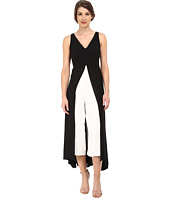 Adrianna Papell - Color Blocked Overlay Jumpsuit
