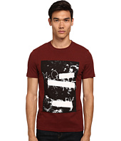 McQ - Short Sleeve Logo Print Crew Neck T-Shirt