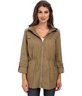 Sam Edelman - Cotton Anorak w/ Hood Detail