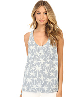 Splendid - Pinstripe Palm Tree Tank Top