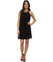 Vince Camuto - Sleeveless Trapeze with Beaded Neck